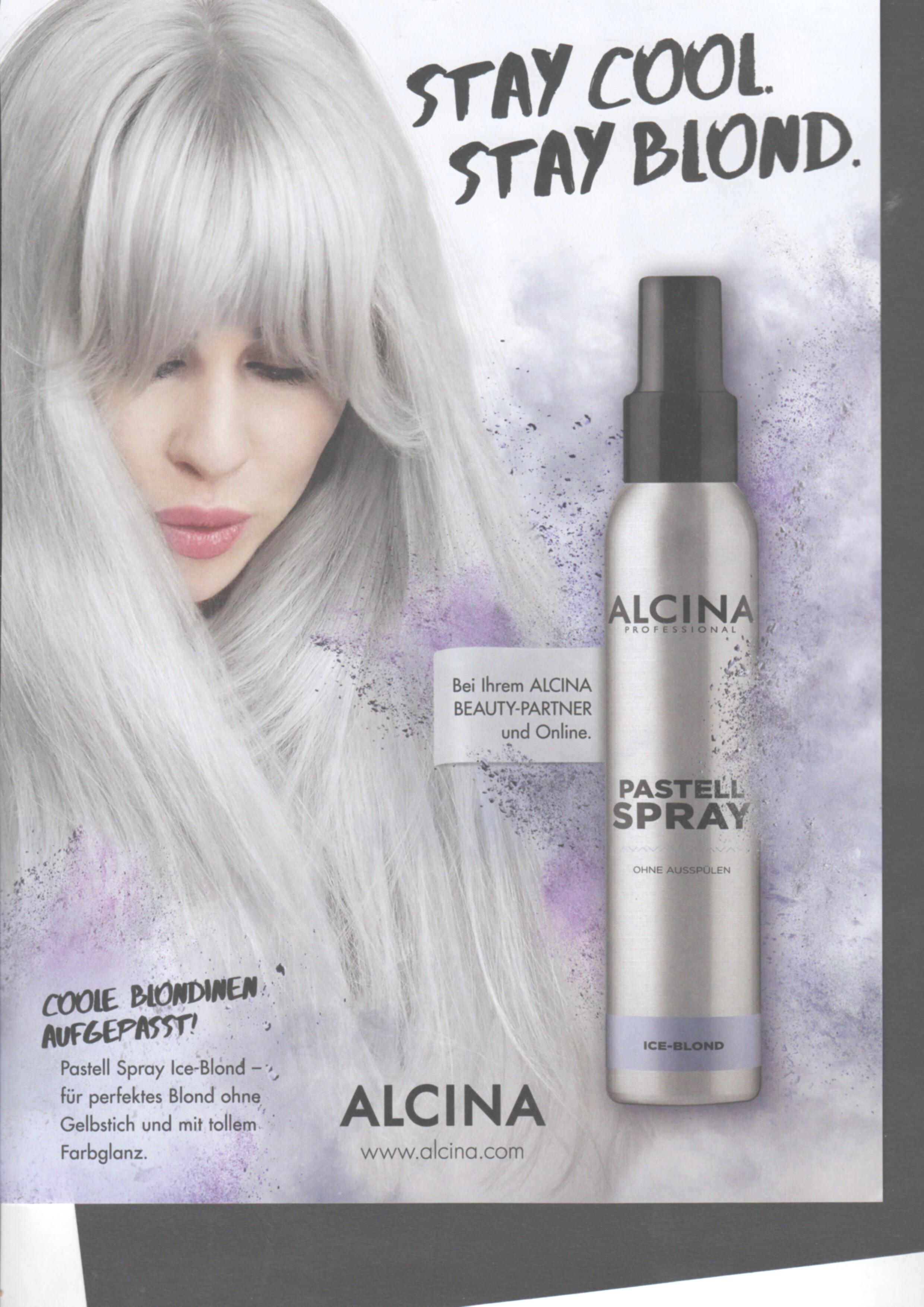 Wenn Eine Blondine Einen Stich Hat Hilft Alcina Spiesser Alfons