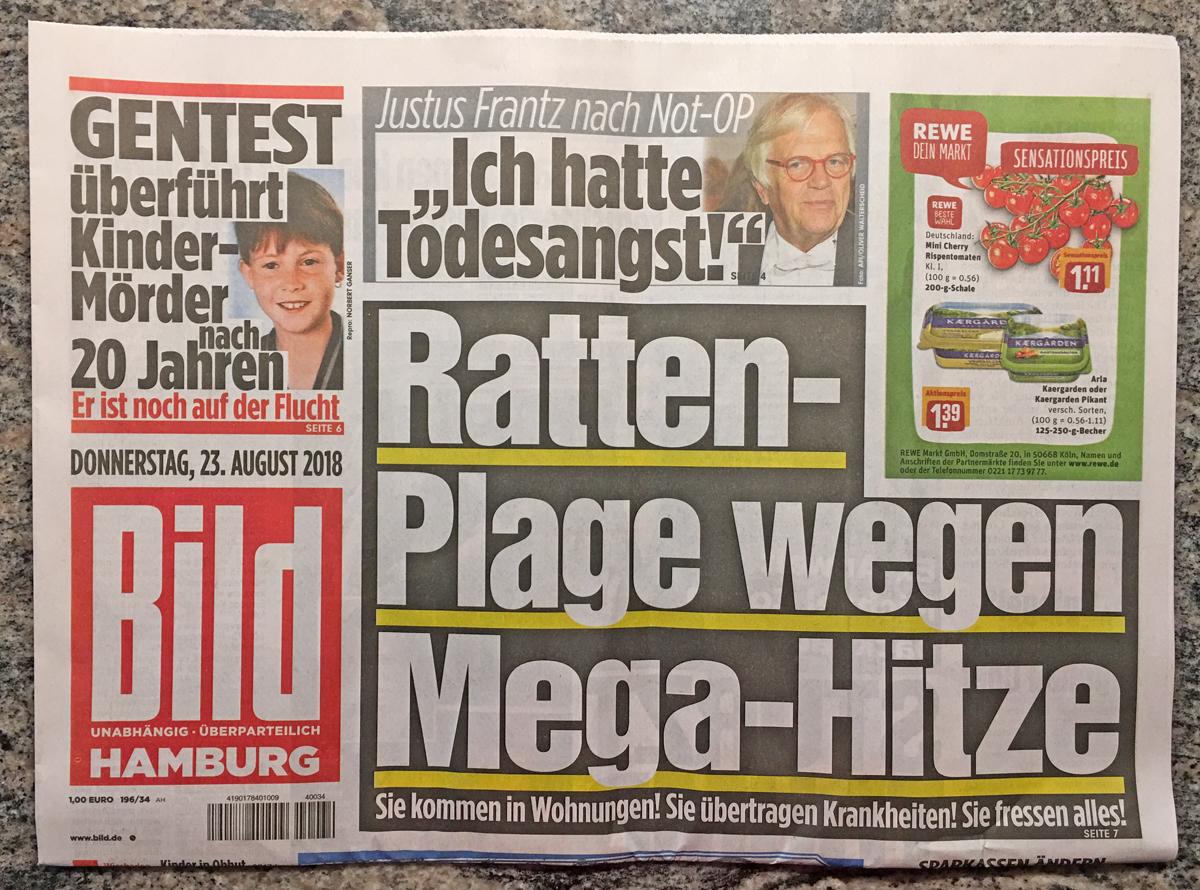 Schlagzeilen Des Tages